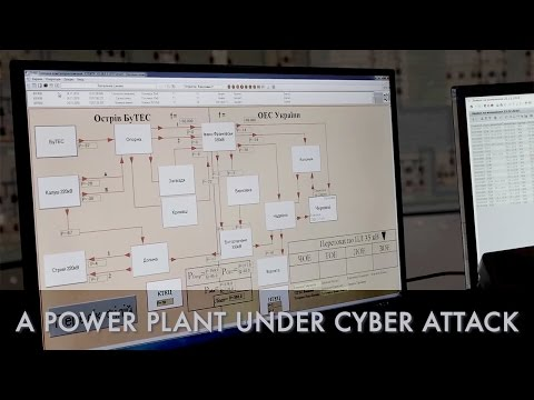 What happens when a power plant comes under cyber attack?