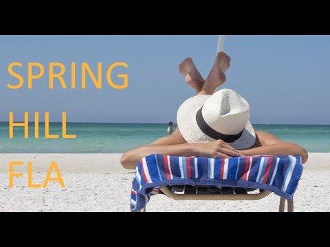 Spring Hill Florida Map.Spring Hill Florida Map Video Youtube