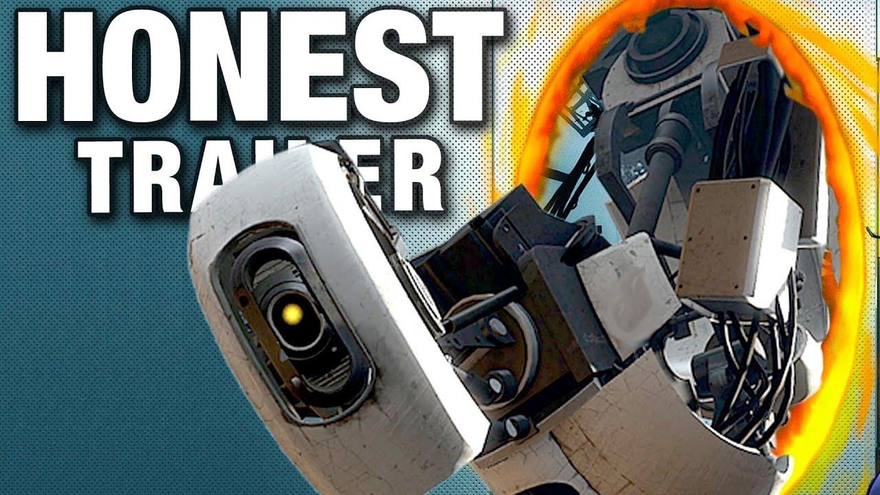 portal honest game trailers youtube
