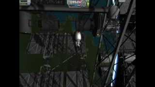"KSP- First two modules of ""The Gossamer"".  EVA TOUR."