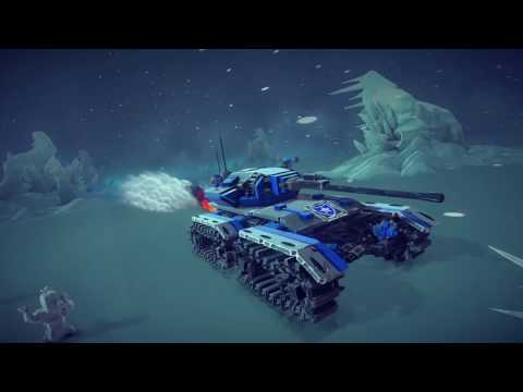 American Crusader tank & Hellfire drone [Drako] Besiege v0.4