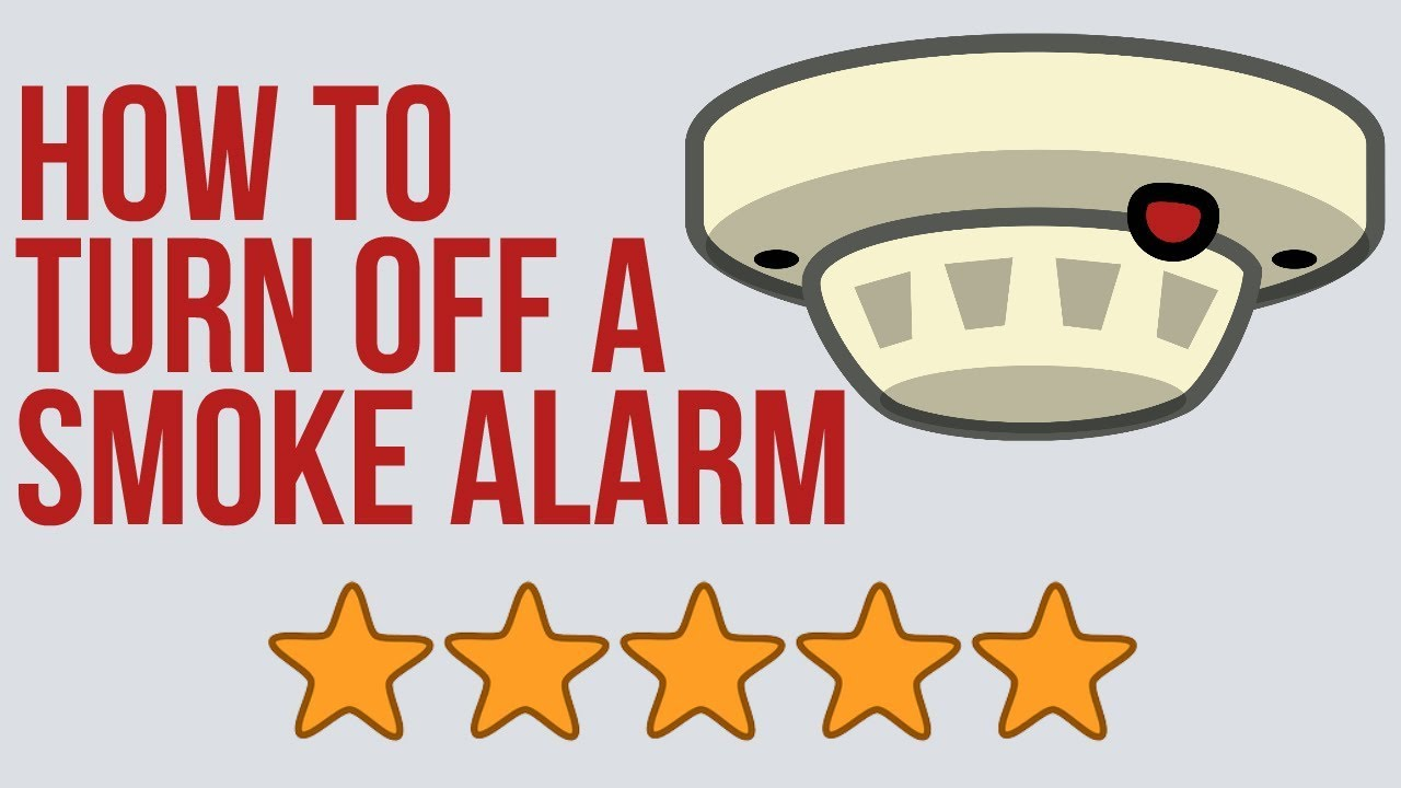 How To Turn Off A Smoke Alarm Smoke Detector Beeping Every 30