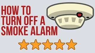 How to Turn Off a Smoke Alarm, Smoke Detector Beeping Every 30 Seconds