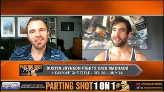 Undefeated Canadian Dustin Joynson talks BFL Heavyweight Title Fight July 14