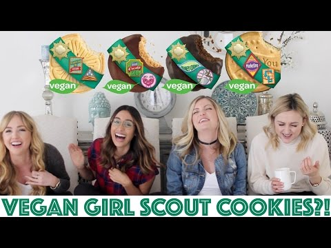 VEGAN Girl Scout Cookie TASTE TEST!!!