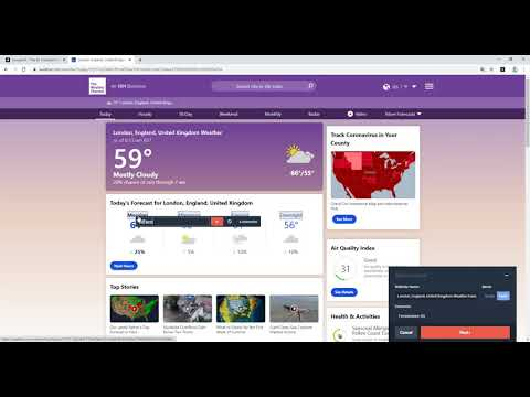 How to get daily weather updates using scraper.ai