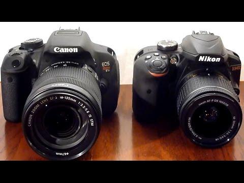DSLR showdown: Cannon T5i vs  Nikon D3400