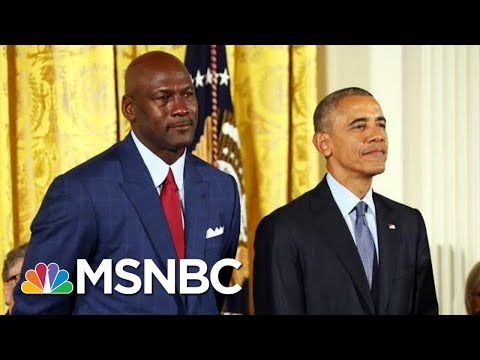 See The Key Lesson Obama Learned From Michael Jordan On Winning And 'Greatness' | MSNBC