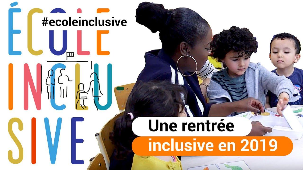 HANDICAP : Pour une rentrée pleinement inclusive en 2019 - YouTube