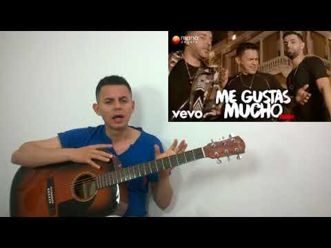 Como tocar Me gustas mucho - Jorge Celedón, Alkilados - Acordes ( guitarra)