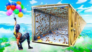 IMPOSSIBLE BALLOON OBSTACLE RACE in Fortnite Battle Royale