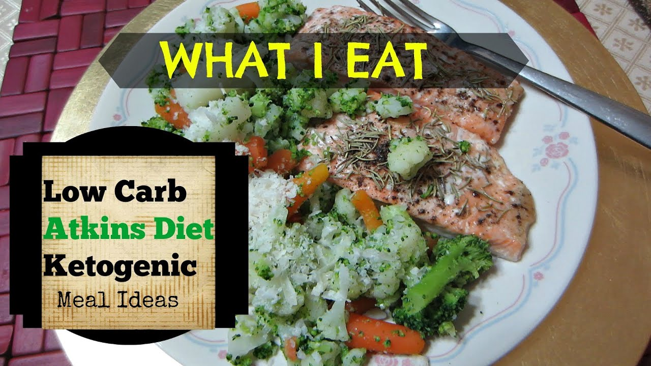 LOW CARB ATKINS DIET MEAL IDEAS