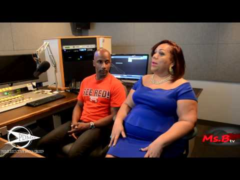 MS, B INTERVIEW WITH COMEDIAN DAMON WILLIAMS AT THE TOM JOYNER MORNING SHOW
