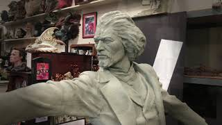Frederick Douglass Legacy of an Abolitionist by Mario Chiodo Mario Chiodo shares an in-process look at the half size version of an engaging and thought-provoking monument of Frederick Douglass, the great orator and ..., From YouTubeVideos