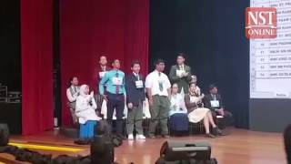 RHB NST National Spell It Right Challenge 2016