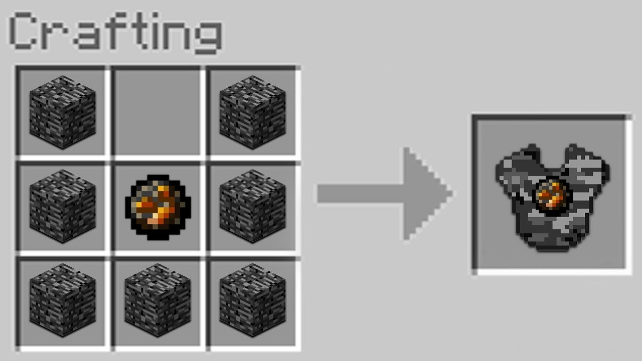 minecraft chainmail armor recipe
