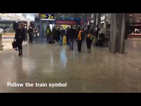 How to get from Helsinki Airport to Helsinki city center by train