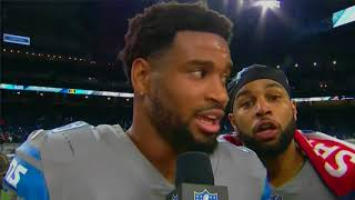 NFL Network Special Mazda Post Game Show 2017 CHI@DET