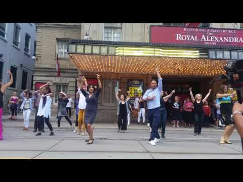 Flamenco Flashmob 2016 Toronto - TIFF