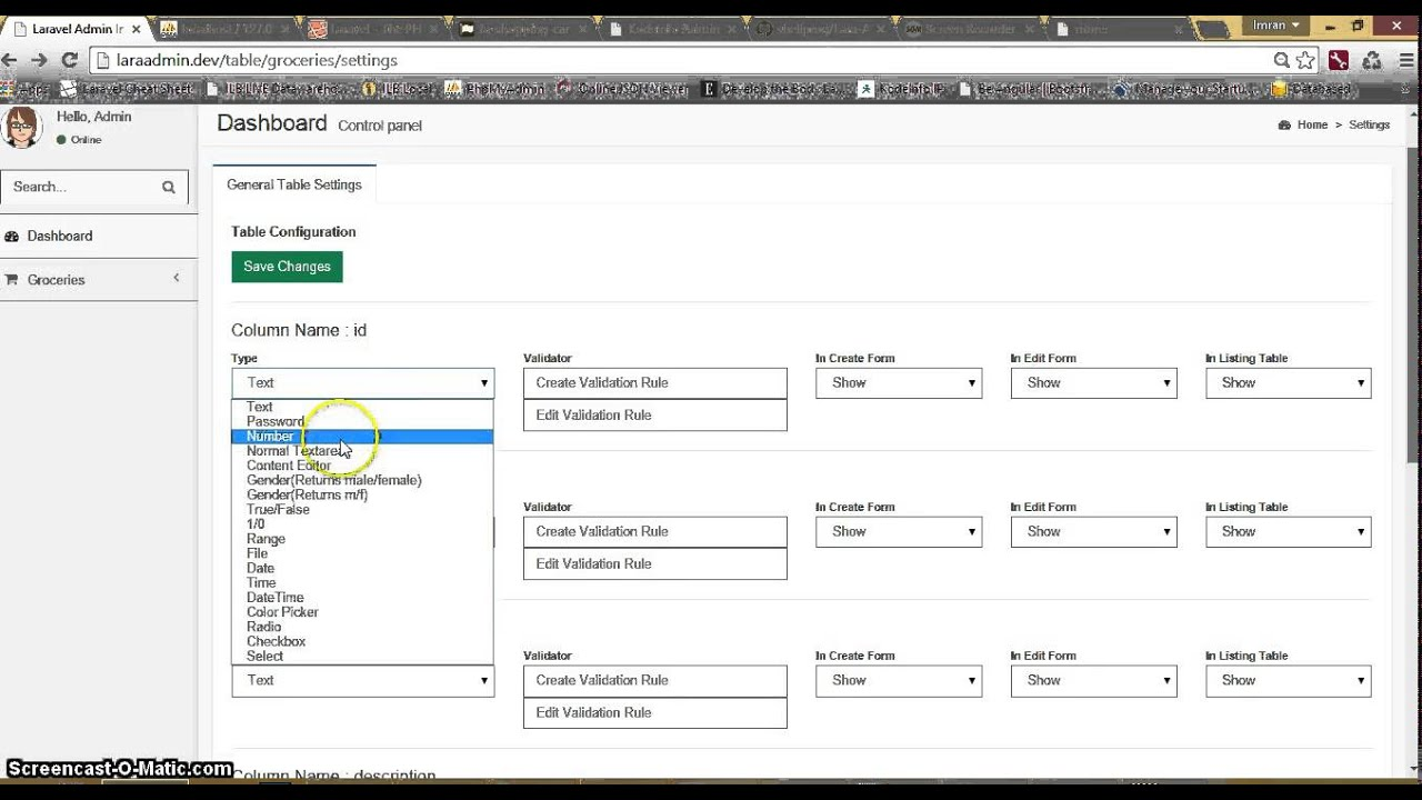 Laravel Admin Panel - Part 1 - CRUD Management - KodeInfo