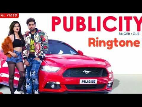 Publicity song | Guri | latest Punjabi songs download | publicity song ringtone download