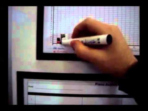 Lean Manufacturing - 4 Lean - Magnetic Board Frame Cutted