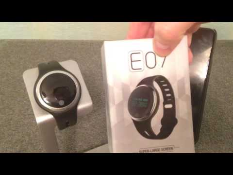 Review: E07 SmartWatch Sport Band Watch + Coupon