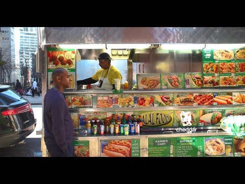 The Hidden Economy Behind NYC Street Vending - Cheddar Explains