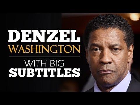 ENGLISH SPEECH | DENZEL WASHINGTON - Put God first (English Subtitles)