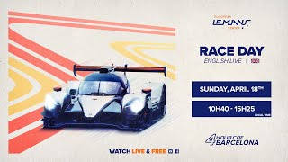 LIVE EN - The Race - 4 Hours of Barcelona 2021
