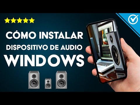 Cómo Instalar un Dispositivo de Salida de Audio en PC Windows (10, 8, 7), Gratis