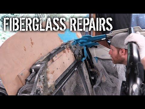 Budget Lotus Evora Pt 14 – Fiberglass Repairs