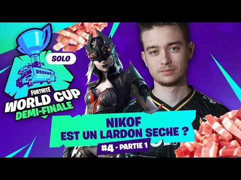 #3 QUALIFICATION SOLO DEMI-FINALE WORLD CUP ► NIKOF EST UN LARDON SÉCHÉ ? - partie 1