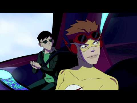 "Young Justice - ""Welcome to Happy Harbor"" Clip 2"