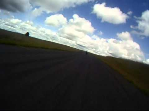 Onboard video Spokane- following some people around the track