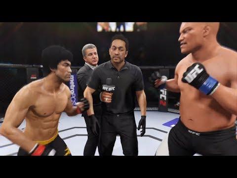 Bruce Lee Vs. Morpheus (EA Sports UFC 2) - CPU Vs. CPU