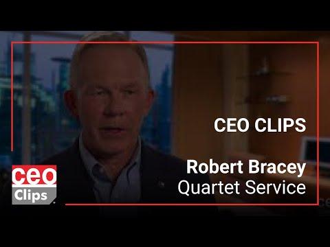 CEO Clips: Robert Bracey | Quartet Service | IT Services for Mid-Tier Companies