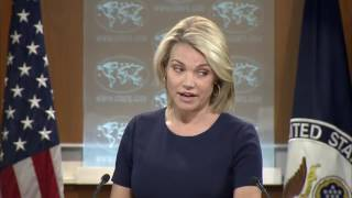 State Department Press Briefing On Russia, Donald Trump, North Korea, Iran, UK Election and Comey