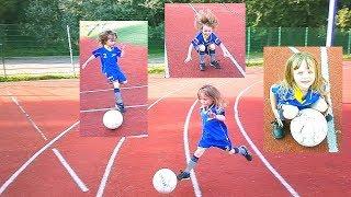 Футбол для девочки: