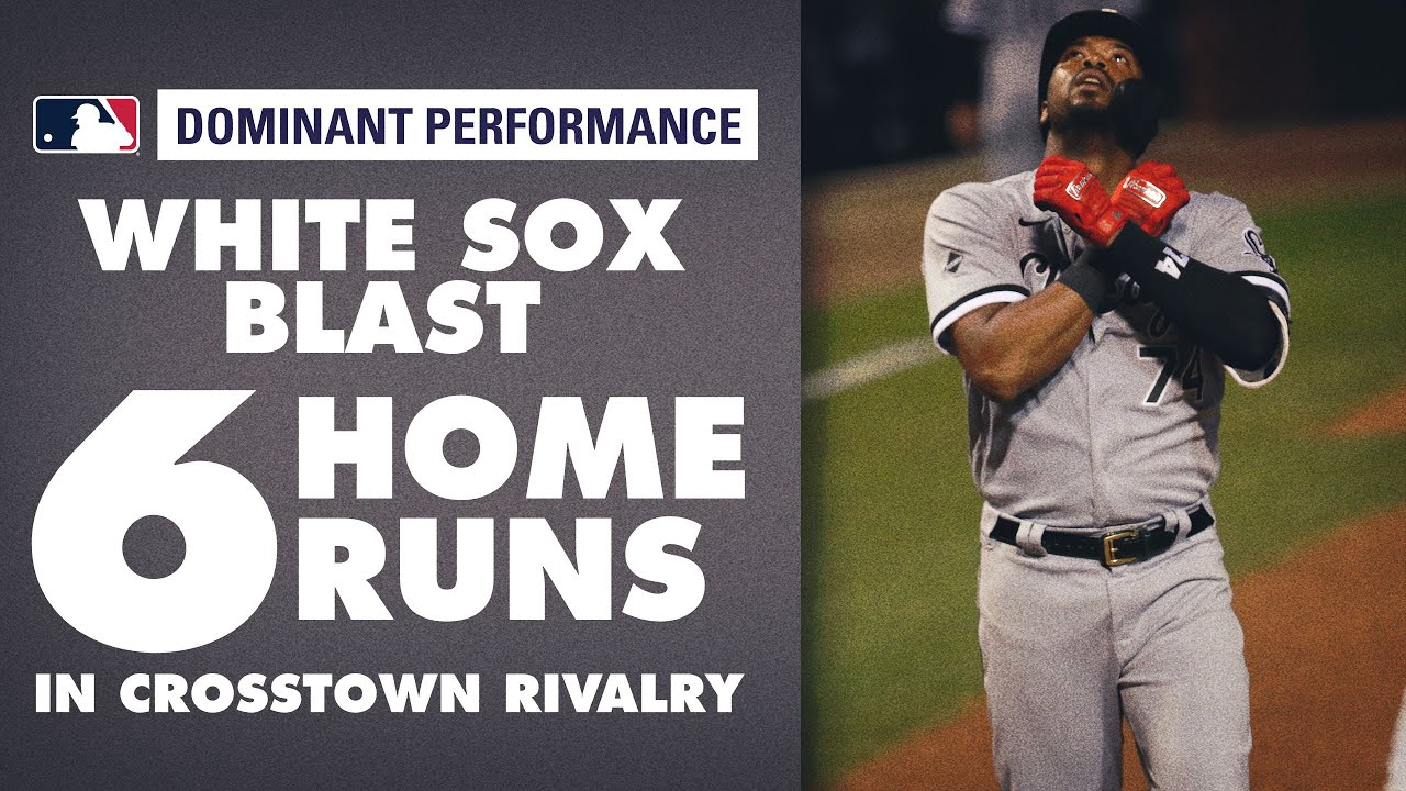 White Sox' BLAST 6 home runs vs Cubs in Crosstown Rivalry!
