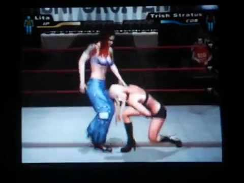 Trish vs lita bra and panties