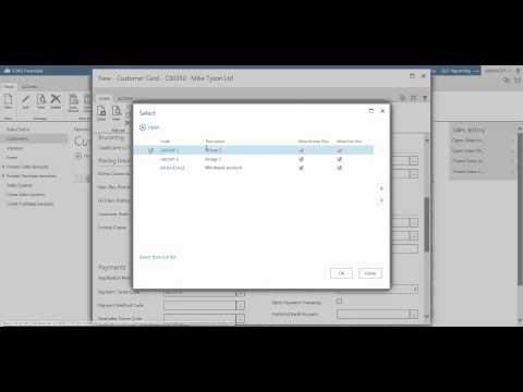 How to add a new customer - Financials for Office 365