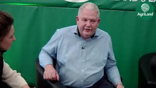 Country Crest's Michael Hoey talks to AgriLand's Claire Mc Cormack - at 'Ploughing 2019'