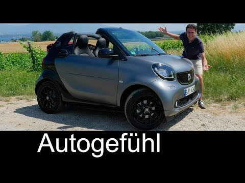 Smart fortwo cabrio electric REVIEW - Why EV convertibles ROCK! - Autogefühl