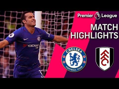 Chelsea V. Fulham | PREMIER LEAGUE MATCH HIGHLIGHTS | 12/02/18 | NBC Sports