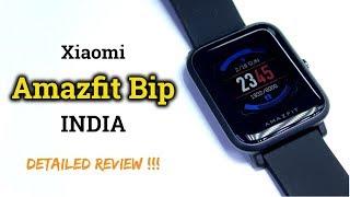 Xiaomi Amazfit Bip in INDIA | Detailed Review | Hindi