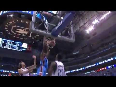 "NBA Playoffs 2012 First Round: ""The Thunder's"" Big Run (OKC Thunder Vs Dallas Mavs Game 4)"