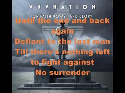 VNV Nation - In Defiance (with Lyrics)