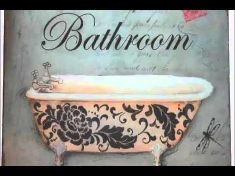Vintage Bathroom Signs & Metal Restroom Signs