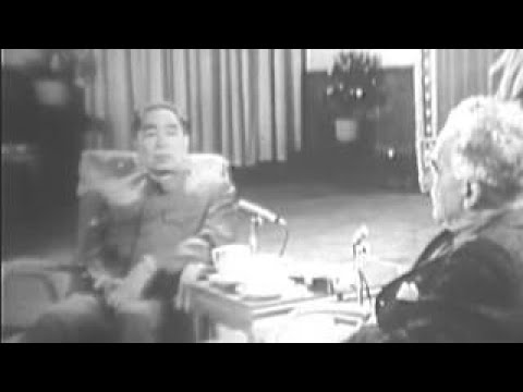 Chinese Premier Zhou Enlai Interview